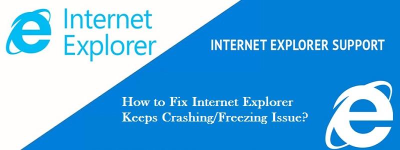 Internet Explorer Keeps Crashing